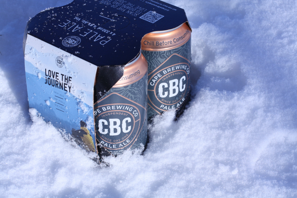 CBC Pale Ale in a Can lifestyle
